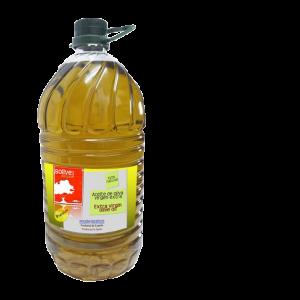 Botella de aceite de 5 litros